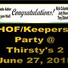 2015 HOF/KEEPERS PARTY AY THIRSTY'S 2 :