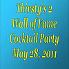 2011 Thirsty's 2 Wall of Fame Reception :