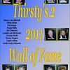 2011 Thirsty's 2 Wall of Fame Induction :