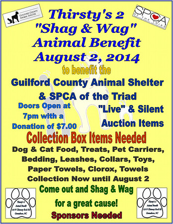 "2014 Animal Benefit ""Shag & Wag"""
