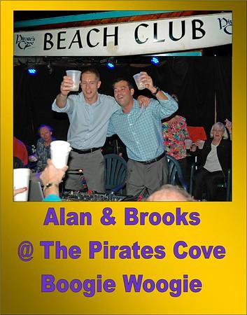 2015 Alan Stokes & Brokks Lee at the Pirates Cove