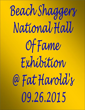 2015 Beach Shaggers National Hall of Fame Exhibition